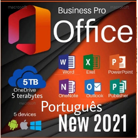 Notebook Conta Office 365, Office 2019