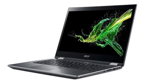 notebook conversível acer spin 3 sp314-51-31rv intel core i3 4gb hd 1tb tela 14  hd touch scren windows 10