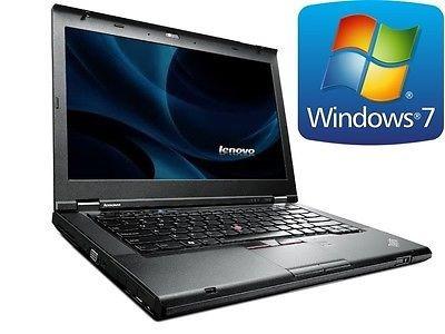 notebook core i5 lenovo t430 8gb 320gb usb 3.0 win 7 pro