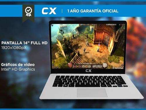 notebook cx cloudbook 4gb 64gb 14 pulgadas windows 10 ips