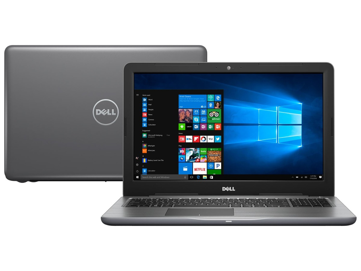 47067e7f3 notebook dell 5567-a40c core i7 8gb 1tb 15.6 radeon r7 4gb. Carregando zoom.