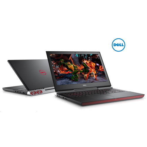 notebook dell 7567 gamer core i7 8gb 1tb gforce gtx1050 win