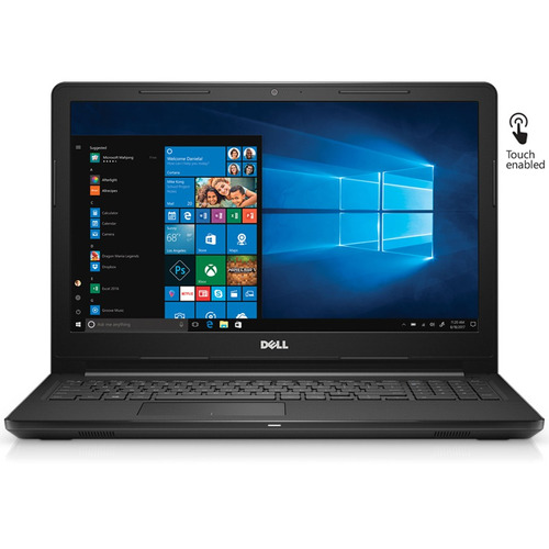 notebook dell a6 9200 15,6 touch 8gb 1tb win 10 video 2gb