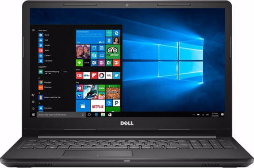 notebook dell i3567-3629blk-pus i3 2.4ghz 6gb 1tb 15.6 win10