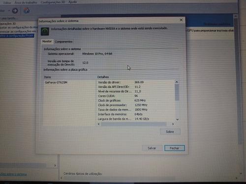 notebook dell - i5-3337u - hd 500gb - 8 gb - nvidia gt625m