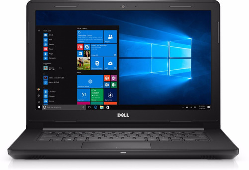 notebook dell inspiron 3467 core i3 4gb 1tb led 14hd win10