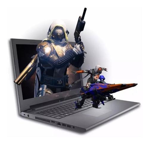 notebook dell inspiron 3567 core i3 6gb 15,6 1tb win10 gamer