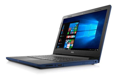 notebook dell intel i3 8g 1tb 14 win 10 pro teclado con ñ