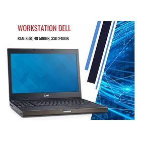 Notebook Dell Precision Core I7 Ssd 240gb Placa Vídeo Quadro