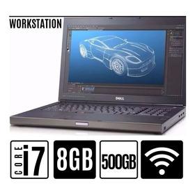 Notebook Dell Precision I7 8gb Hd 500gb Ótimo Para Jogos