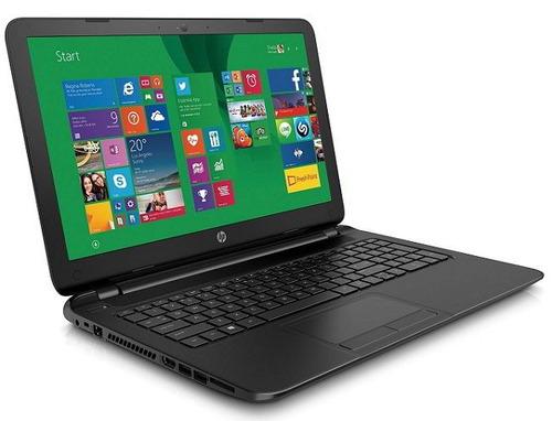 notebook dual core hp 15-f233wm 8gb 256 ssd dvdrw tela 15.6