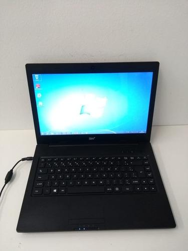 notebook dual core positivo  250gb 4 gb wi-fi bateria ruim