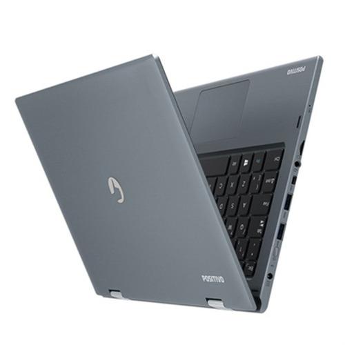 notebook duo zr3630 celeron windows 10 home 11.6'' - cinza