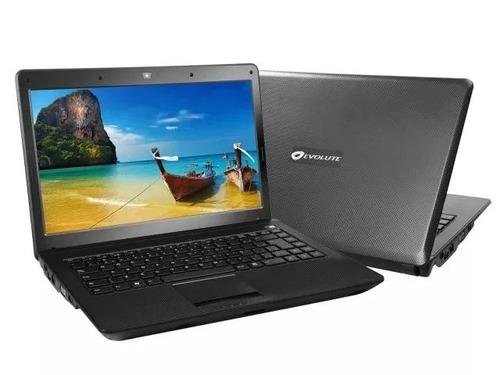 notebook evolute sfx-65 core i5 4gb 500hd