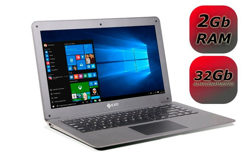 notebook exo e15 2/32g 14.1 windows10 hdmi oferta