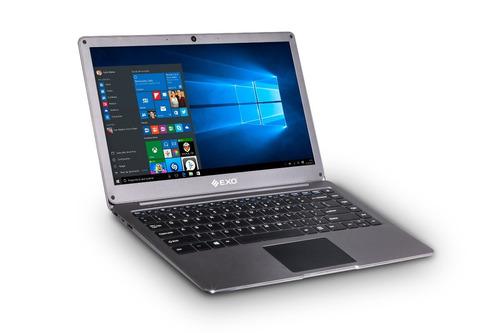 notebook exo smart e17 4gb/32gb w10 13.3  intel hdmi usb env
