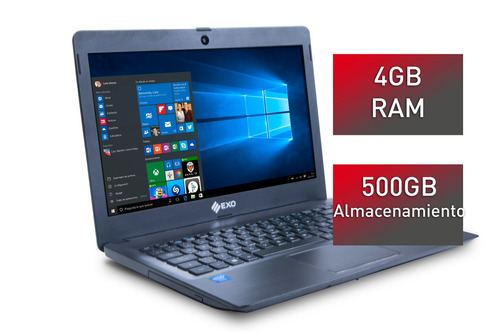 notebook exo smart r9 1445 4g ram 500g disco windows10