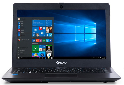 notebook exo smart r9 1445s 4g ram 500g disco envío sin so