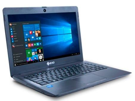 notebook exo smart r9 f1445 intel 4gb hd500gb hdmi win10 dvd