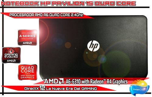 notebook gamer a6 quadcore 2.4ghz 6gb ram 500gb disco hdmi
