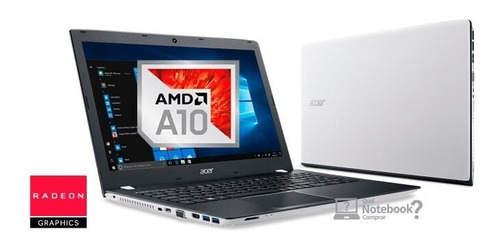 notebook gamer acer aspire amd a10 4gb 1tb 15p black friday