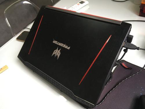 notebook gamer acer helios 300 gtx1060 m.2 500gb kingston