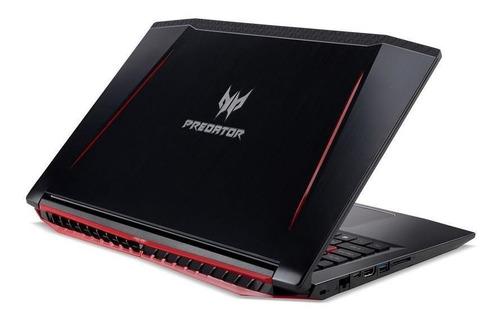 notebook gamer acer predator helios 300 g3-572-75l9 core i7 16gb hd 2tb nvidia geforce gtx 1060 6gb 15,6  fhd windows 10