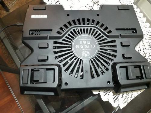 notebook gamer asus + cooler master notepal x3