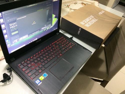 notebook gamer asus gtx 1060
