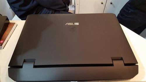notebook gamer asus rog g75vx i7,16gb,1tb, batería dura poco