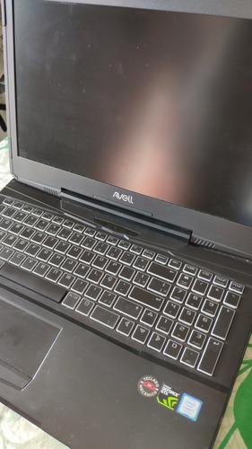 notebook gamer avell - g1556mx - gtx1070 8gb