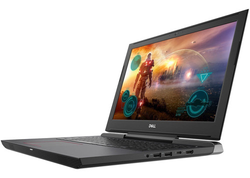 notebook gamer dell g5 i7 8va 8gb ssd+hdd gtx1050ti 4gb 15,6
