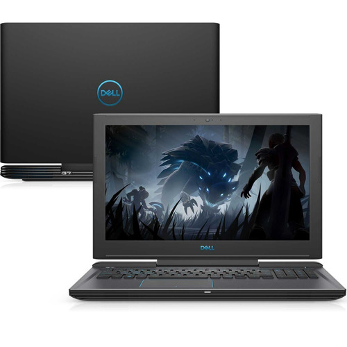 notebook gamer dell g7-7588-m30p i7 16gb 1tb+256ssd gtx w10