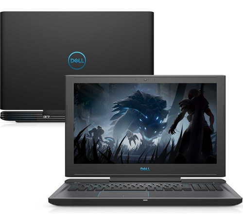 notebook gamer dell g7-7588-u30p i7 16gb 1tb+ ssd gtx linux