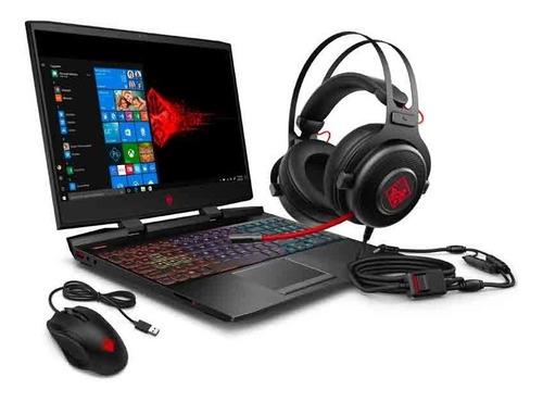 notebook gamer hp i7 16gb 256gb ssd 15.6 fhd gtx 1660ti 6gb