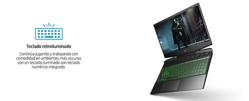 notebook gamer hp i7 8gb 256ssd gtx1050 15,6