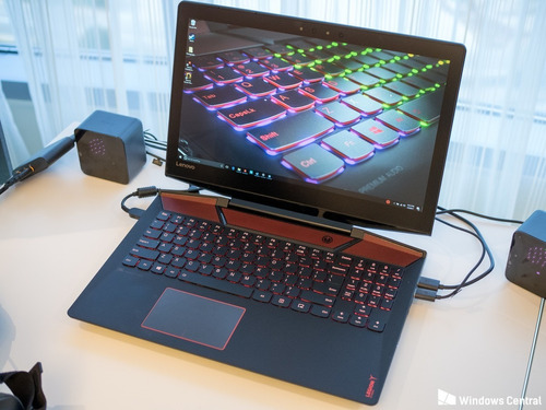 notebook gamer lenovo i7 7700 gtx 1060 6gb + ssd y720-15ikb