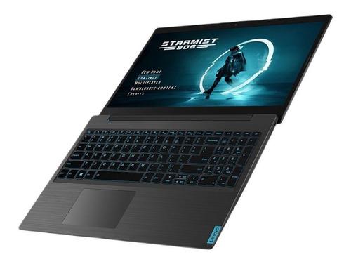 notebook gamer lenovo i7 9750h 9na generacion 8gb de ram nvidia gtx1650 4gb ssd 128gb + hdd 1tb 15,6 pulgadas