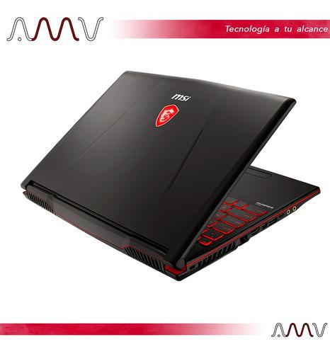 notebook gamer msi gl63 15,6 i7 16gb 512gb ssd gtx1600ti amv