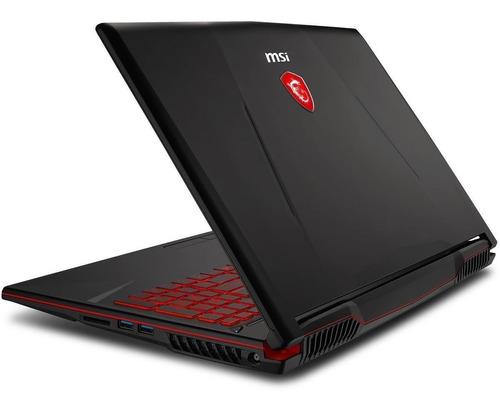notebook gamer msi gl63 i5 8300h quad core 8gb 1tb gtx1050