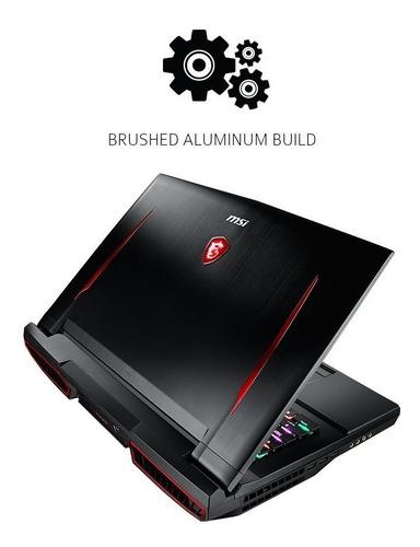 notebook gamer msi gt75vr 4k-082 - 20.299 (vista)
