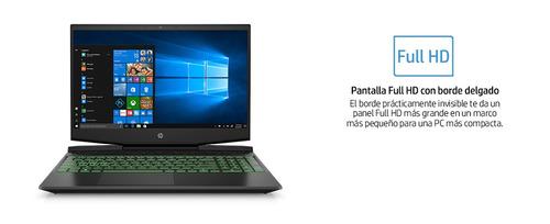 notebook gaming hp  i5 8gb 256ssd gtx1050 15,6