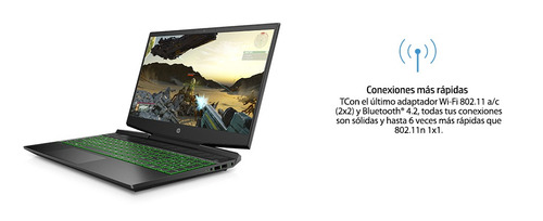 notebook gaming hp i7 8gb 256ssd gtx1050 15,6