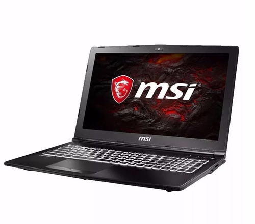 notebook gaming msi gl62m 7rdx gtx 1050 i7-7700/8gb/1tb 15.6