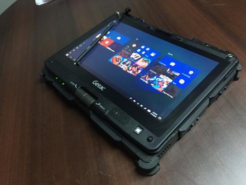 notebook getac v110 + interface nexiq + software camiones