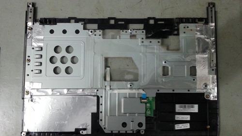 notebook gigabyte w466u - carcaça superior com touch pad