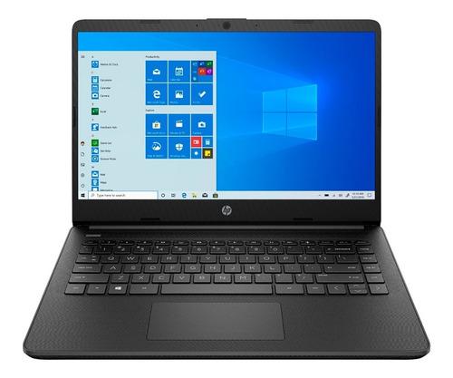 notebook hp 14 4gb 128gb windows 10 athlon 3050u garantía pp