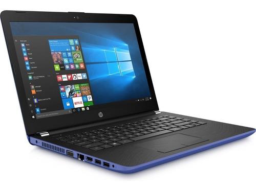notebook hp 14 4gb/64gb ssd intel celeron w10+cartão sd 32g