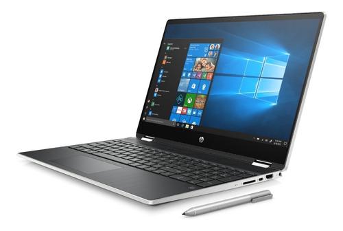 notebook hp 15-dq1003la core i5 10210u 8gb 1tb + 128 ssd w10