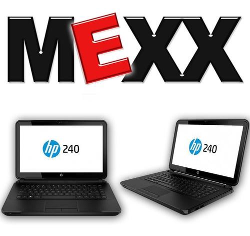 notebook hp 240 g6 intel dual core 4gb 500gb 14 gtia mexx 2